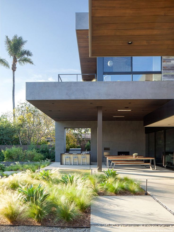 Moreno residence by marmol radziner los angeles ideas for the house maison moderne maison - Maisons californiennes ...