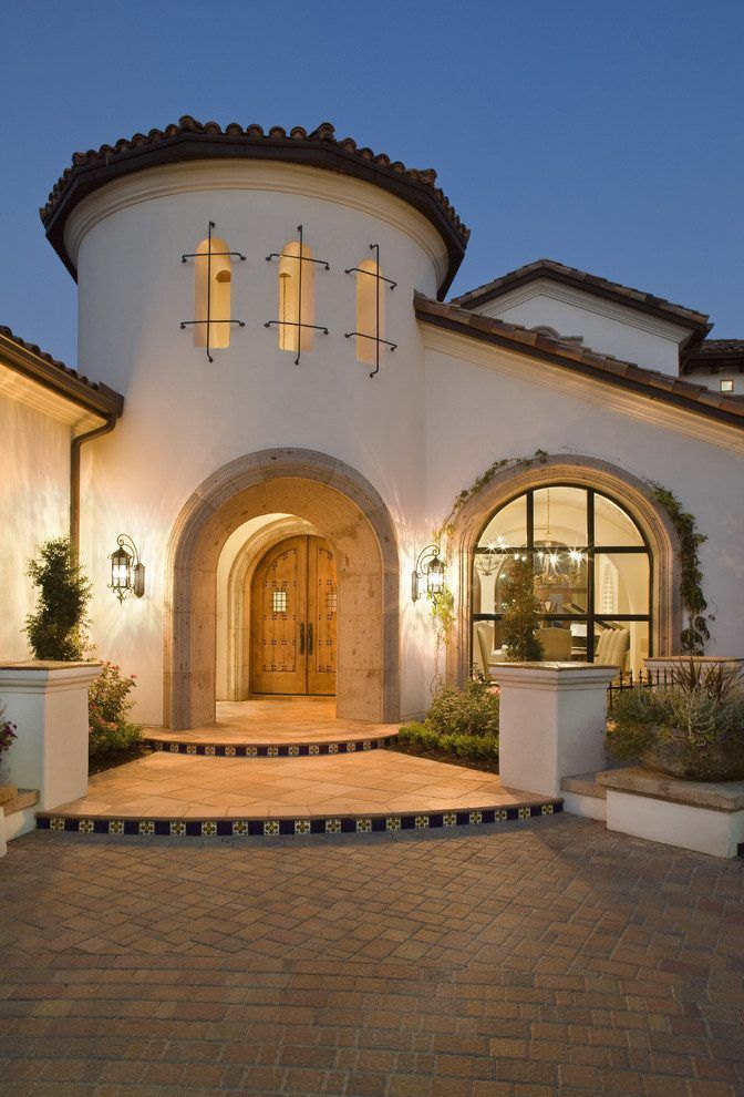 Spanish Colonial Revival Architecture Exterior Mediterranean With