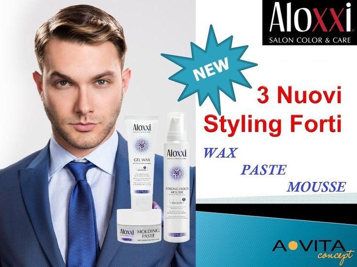 L'abilità e la creatività di un parrucchiere fanno tanto, tantissimo... ma con i nuovi styling AloXXi ognuno può scatenare la propria creatività e realizzare gli stili più ricercati e attuali. Perchè sono leggerissimi, a tenuta forte, ricchi di estratti naturali e in più proteggono i capelli colorati. Ma ora basta parlare, bisogna provarli!