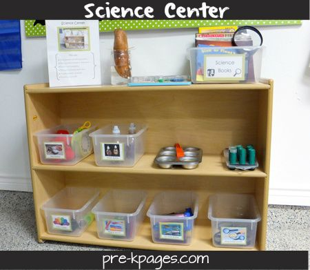 How to Set Up a Science Center in Pre-K or Kindergarten