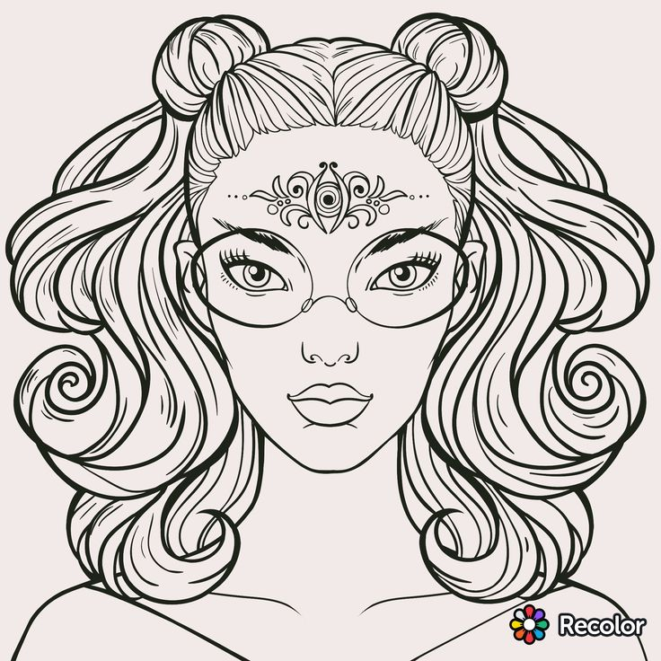 pattern coloring pages for teens - photo#23