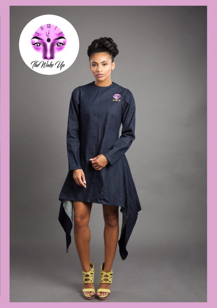 Easy and Breezy!!! The Wake Up Denim Dress!!! Smartness overloaded!!!         #The #Wake #Up #TheWakeUp #denim #Dress #Dresses #Womenswear                                  #AfricanDresses