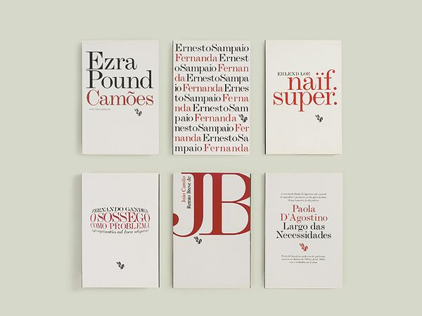 The project for this series of books is based on a self imposed restriction with the aim of exploring the expressiveness of the text. All book covers are designed using only two colors – black & red – over a white background. Monotype Modern Extended, a typeface to been seen rather than read, is the sole graphic element apart from the publishers logo. The vast diversity of subject matters and ages of the texts in this collection is reflected on the cover designs, with the treatment of type…