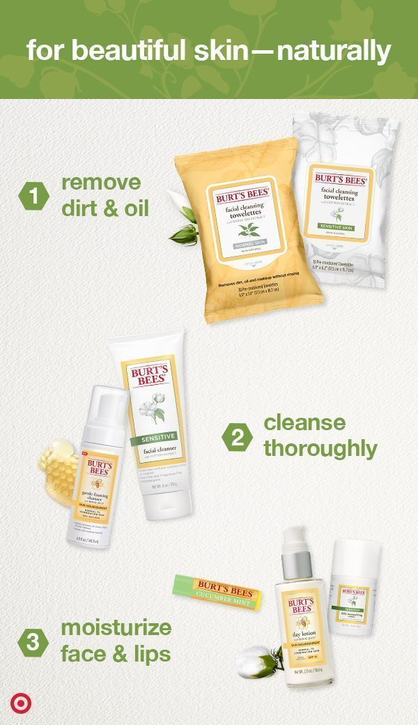 Burt S Bees Skin Care Products Are The Natural Way To Put Your Best Face Forward From Wipes To Cleanse Best Face Products Natural Skin Care Skin Care Remedies