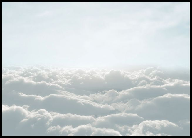 Up in the clouds, plakat i gruppen Plakater / Størrelser / 50x70cm hos Desenio AB (8521)