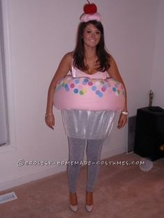 Coolest Cupcake Costume... This website is the Pinterest of costumes