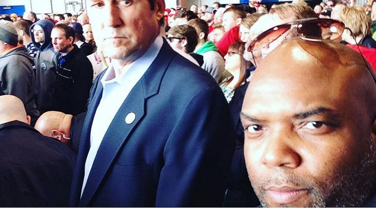 James Troup boldly went to Donald Trump's Dayton, Ohio rally last weekend to silently observe the crowd's response to Trump's rhetoric and people of color.