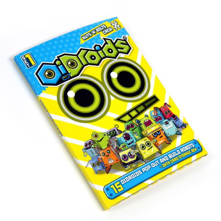 OiDroids Nuts 'n' Bolts Crew Set 1 pack