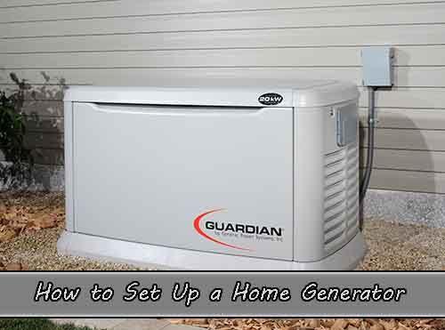 How to Set Up a Home Generator - LivingGreenAndFrugally.com