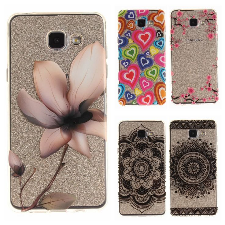 Soft TPU IMD Capa Case sFor Coque Samsung Galaxy A5 2015 case For Fundas Samsung A5 2016 A510 Painting Clear Transparent Case