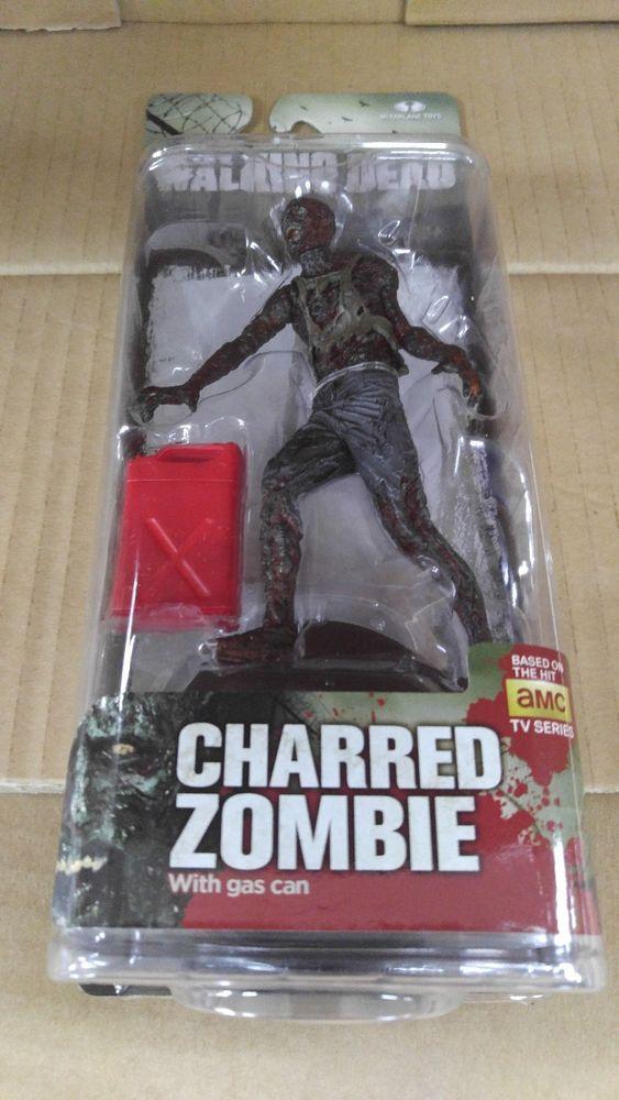 McFarlane The Walking Dead Series 5 Charred Zombie Action Figure #McFarlaneToys