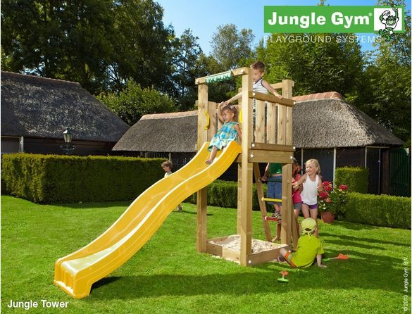 These Jungle Gym climbing frames are most suitable for smal(ler) gardens. #TimeToPlay #JungleGym