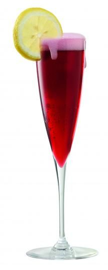 Barefoot Bubbly Sea Breeze Sparkler  Pink Moscato Bubbly~  3 ounces Barefoot Bubbly Extra Dry  1-1/2 ounce Blueberry Juice  1/4 ounce Lemon Juice  1/2 ounce Grenadine  Lemon Wheel Garnish  Place chilled juices in flute. Top with Barefoot Bubbly Pink Moscato. Garnish with lime wheel