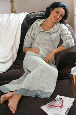 Lazy Day Lounger from Soft Surroundings - I need this!  Looks like an awesome Sunday at home outfit.