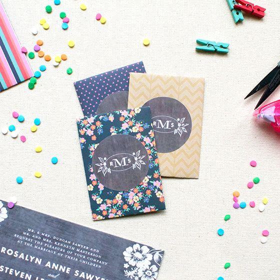 FREE Printable Mini Envelope Template