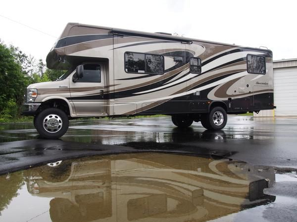Conversion Van Camping >> Jayco Melbourne 4x4 E450 B+ - Expedition Portal | Cars and Motorcycles | Pinterest | 4x4 ...