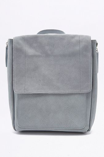 Suede Square Backpack - Urban Outfitters