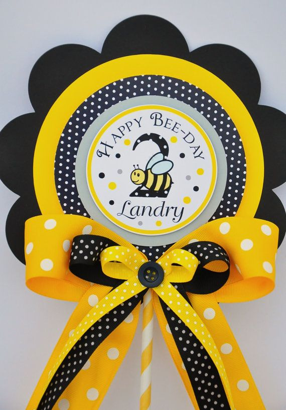 Bumble Bee Centerpiece Luxurious XL Birthday By Thepaperkingdom 1300