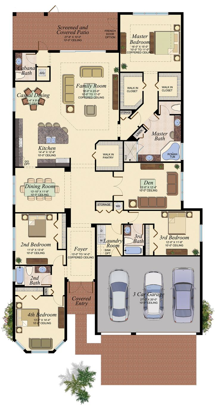 CANARY/603 Floor Plan
