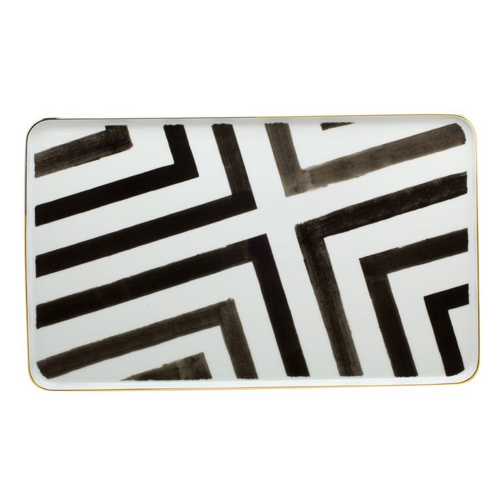 Discover the Christian Lacroix Sol Y Sombra Rectangular Platter at Amara