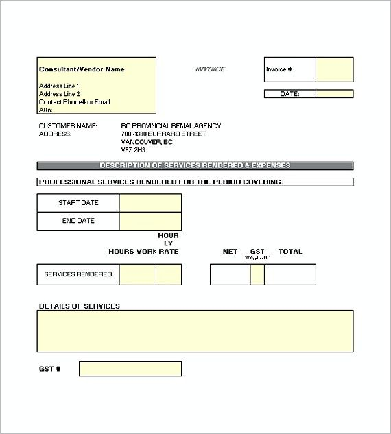 Best Invoice Template Images On   Invoice Template