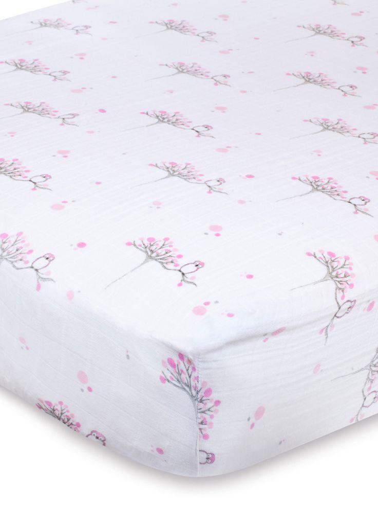 Muslin Fitted Crib Sheet