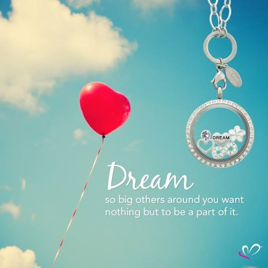 {Dream so big others around you want nothing but to be a part of it}  www.lilyannedesigns.com.au  #LilyAnneDesigns #PersonalisedLockets #Dream