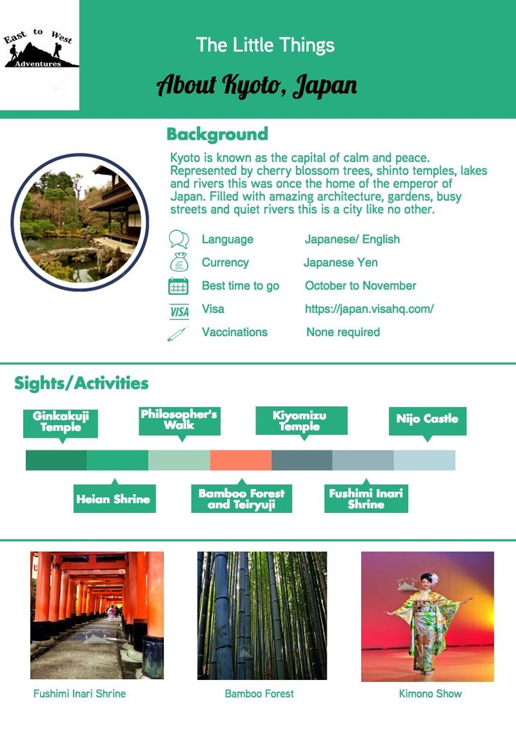 """Everything you need to know about Kyoto,Japan  To know more about our trip  ,check the blog """"link""""  #cheatsheet #kyotocheatsheet #easttowestadventures #travelcheatsheets  #kyoto #Japan"""