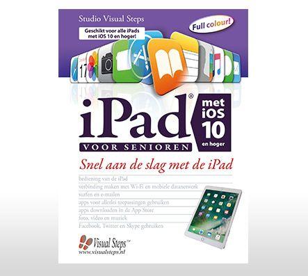In dit boek maakt u stap voor stap en in uw eigen tempo kennis met de belangrijkste functies en opties van de iPad. iPad voor senioren met iOS 10: € 22,50.<br />