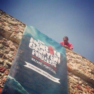 #thenorthcanyonproject2014 #praiadonorte #nazare #garrettmcnamara