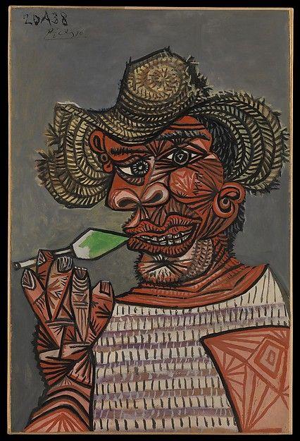 Pablo Picasso   Man with a Lollipop   The Metropolitan Museum of Art