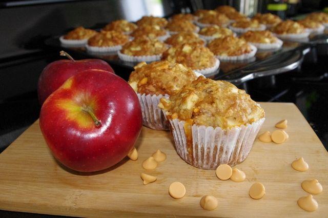Wooloo   Muffins aux pommes et butterscotch