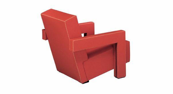 Кресло 637 Utrecht Armchair фабрики Cassina, дизайн Rietveld Gerrit Thomas.
