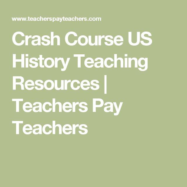 Crash Course US History Teaching Resources | Teachers Pay Teachers