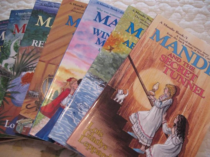 The Mandie books by Lois Gladys Leppard.