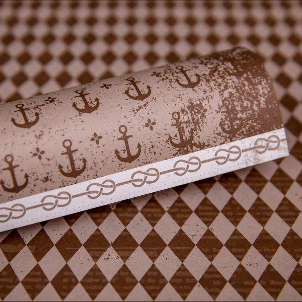 LPPO0004 - Ooh La Limited - Retro Sailor - Chocolate Chilli