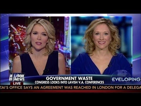 Government Waste on V.A. Conferences Examined by Jessie Jane Duff - Megyn Kelly - 10-30-13   RightSightings