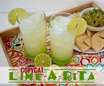 Copycat Lime-A-Rita Recipe.  Marcia Jackson!!!