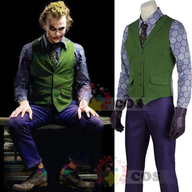 Aliexpress.com: Comprar Disfraces de halloween hombres chaqueta de invierno Batman The Dark Knight Joker Cosplay traje de esmoquin carnaval Cosplay del Joker Batman de chaqueta de honda fiable proveedores en Twinkle Twinkle Star