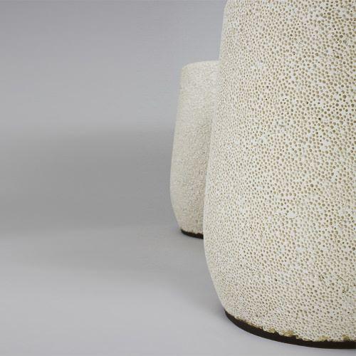 Tabouret Lightweight en porcelaine allégée par Djim Berger - Blog Esprit Design @Blog Esprit Design