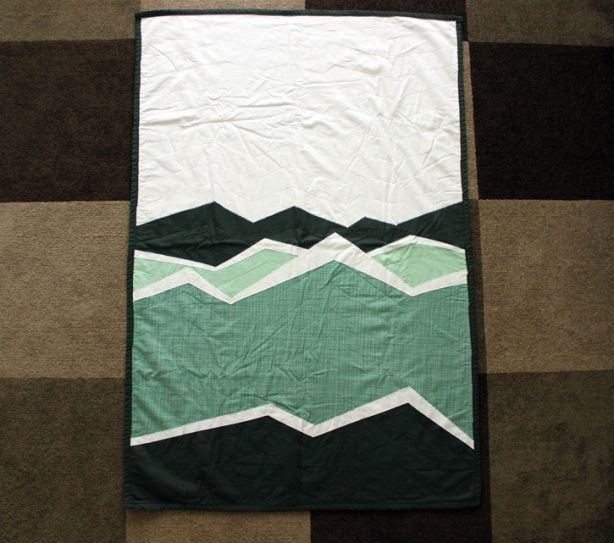 76 best Mountains and quilt design inspirations images on ... : mountain quilts - Adamdwight.com
