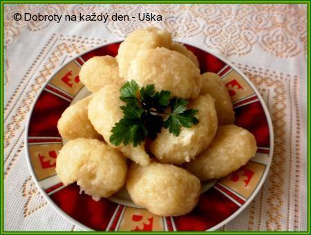 Rychlé bramborové chlupáčky