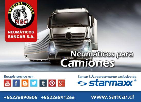 Neumático Camión Neumáticos para camión Triangle TR668 estable en pavimento, excelente comportamiento en carretera y cuidad, desarrollado especialmente para carga. Representante Exclusivo en Chile de Starmaxx Neumáticos Sancar, Todos en un solo lugar. http://www.sancar.cl/ | ventas@sancar.cl | +56226890505 | +56226891266