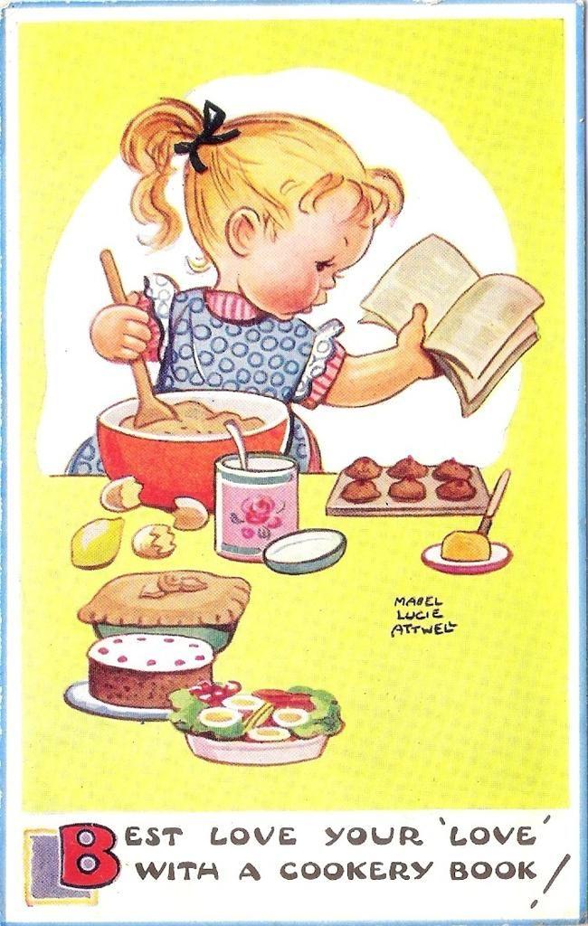 Mabel Lucie Attwell postcard via eBay
