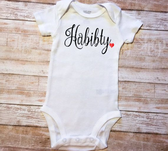 Habibi Habibti Body, bien-aimé, arabe, la Saint-Valentin, cadeau islamique, tenue de bébé, amour, retour aux sources, Aqiqah, cadeau de naissance, Eid