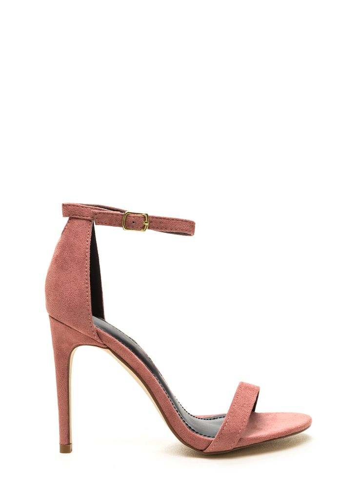 We know that the key to your heart is through the keyhole in these sleek heels…