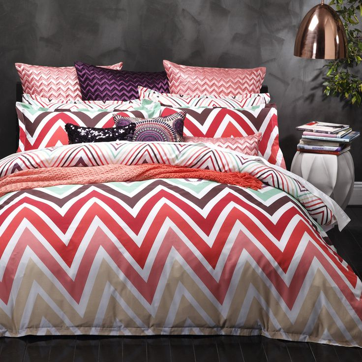 $64 Carnival Multi Quilt Cover Set | More Sizes Available by Logan & Mason Grand Sale on THEHOME.COM.AU