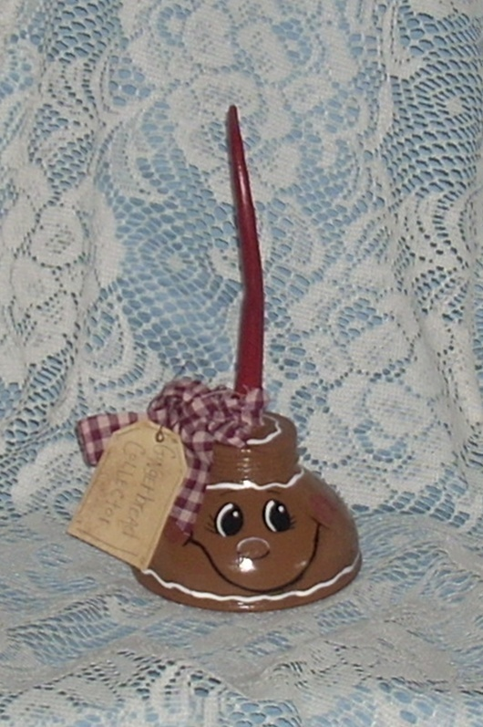 Gingerbread oil can