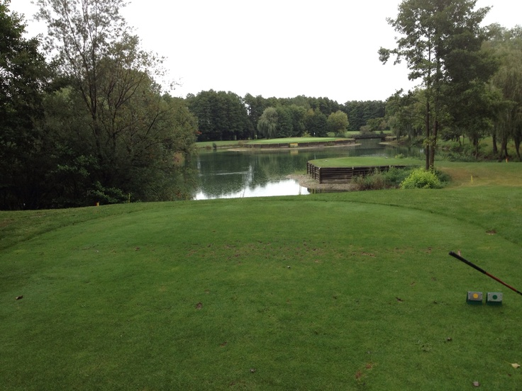 Ptuj, 14th Hole, the Island Green |Pinned from PinTo for iPad|