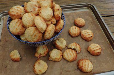 Kokos koekjes; Dit simpele recept kun je straks uit je hoofd